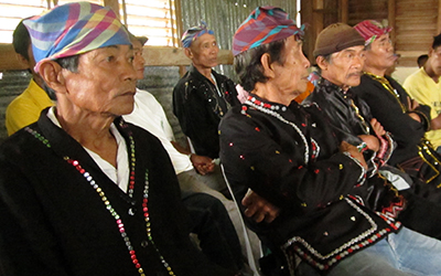 Reinforce indigenous communities ability to resolve resource-based conflict peacefully.