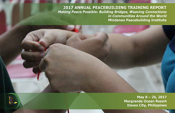 2017 Annual Peacebuilding Training Report
