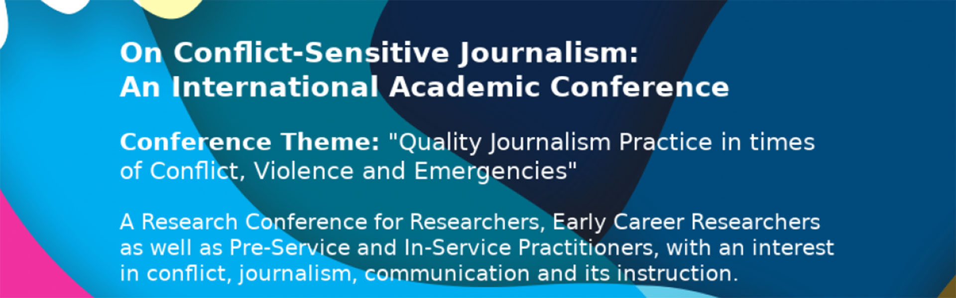 Conflict-Sensitive Journalism - an International Academic Conference
