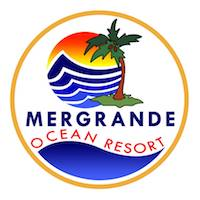Mergrande Logo Palm Tree on the beach graphic