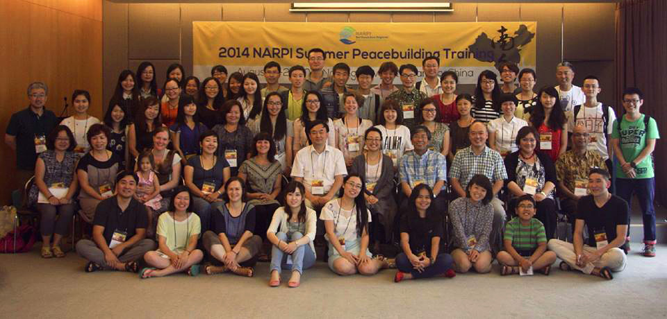 Participants and facilitators of the 2014 Summer Peacebuilding Training of NARPI