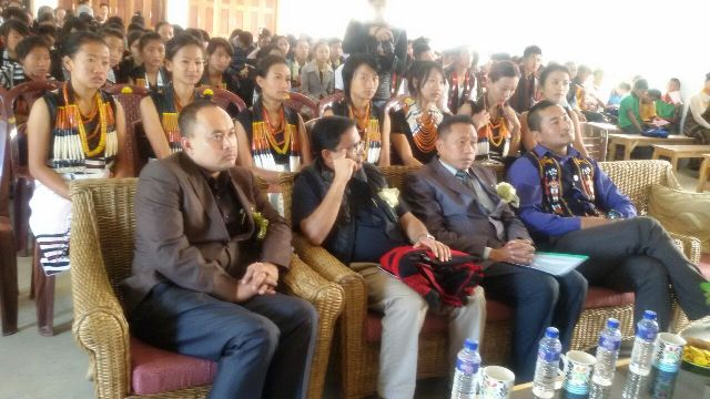 Participants at Heralding Peace activity