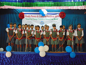 Children at Youth Peace & Cultural Festival 2014
