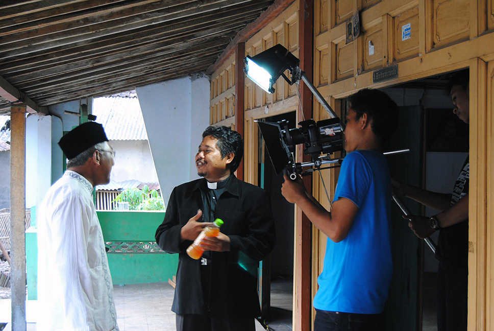 Filming religious leaders