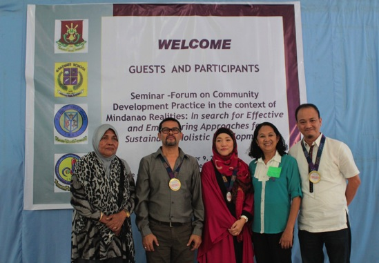 Community Development Seminar Resource Persons