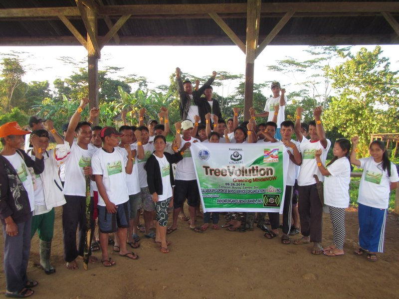 Subanen Community of Bayog AD shows their unity in restoring the forest in their domain
