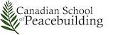 Canadian School of Peacebuilding Logo with olive brancj